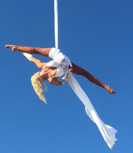 Tuch-Akrobatik