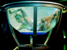 Unterwasser show