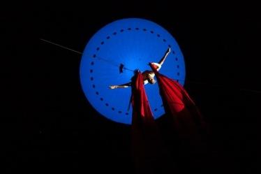 Luftartistik Ballon-Tuch