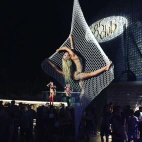 aerial net club