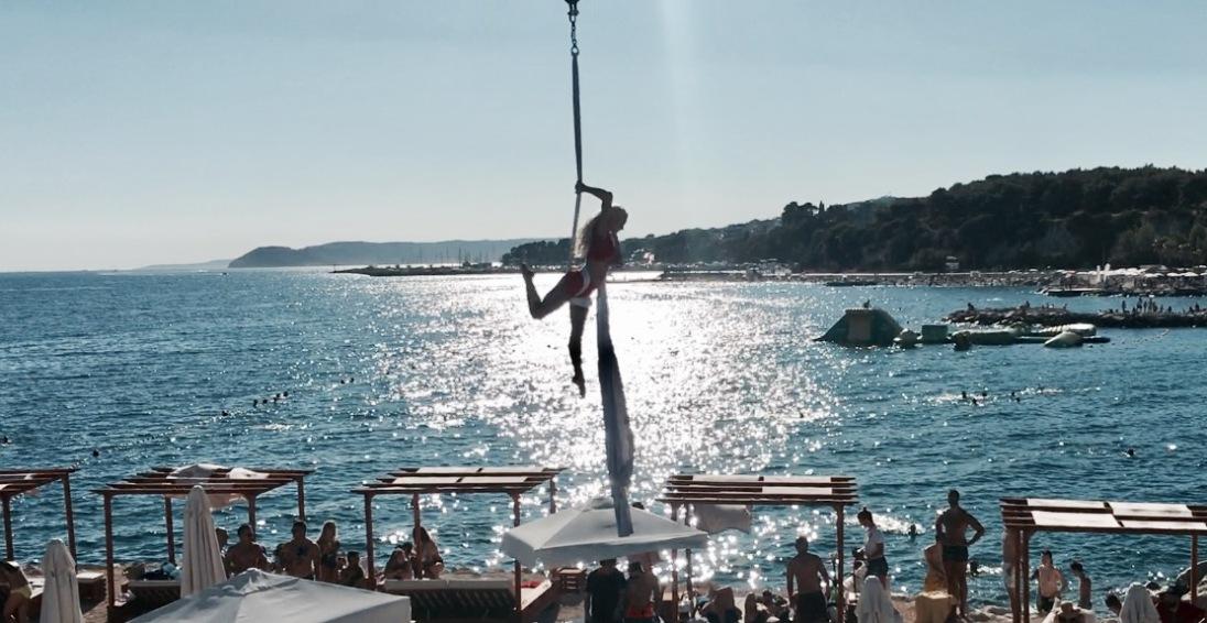 Aerial silk Croatia