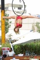 aerial hoop beach club